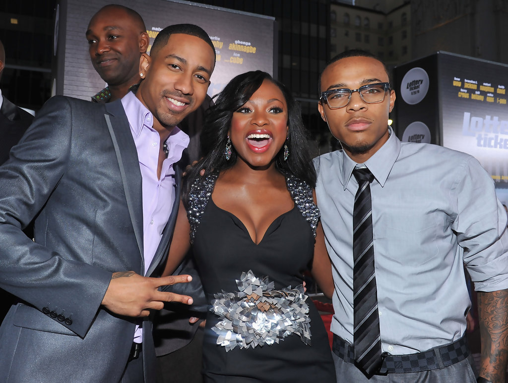 Bow Wow And Brandon T Jackson Photos Photos Premiere Of Warner
