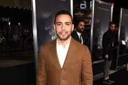 """Victor Rasuk arrives at the premiere of Warner Bros. Pictures' """"The Mule"""" at the Village Theatre on December 10, 2018 in Los Angeles, California."""