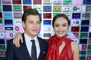 """Tye Sheridan and Olivia Cooke attend the Premiere of Warner Bros. Pictures' """"Ready Player One"""" at Dolby Theatre on March 26, 2018 in Hollywood, California."""