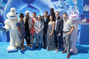 "(L-R) Yara Shahidi, Common, Zendaya, Ely Henry, Channing Tatum, Gina Rodriguez, LeBron James, Karey Kirkpatrick and Jimmy Tatro attend the premiere of Warner Bros. Pictures' ""Smallfoot"" at the Regency Village Theatre on September 22, 2018 in Westwood, California."