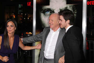 """Anthony Hopkins Colin O'Donoghue Premiere Of Warner Bros. """"The Rite"""" - Arrivals"""