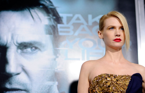 January+Jones in Premiere Of Warner Bros.
