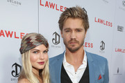 """Actors Kenzie Dalton (L) and Chad Michael Murray arrive at the premiere of The Weinstein Company's """"Lawless""""  held at ArcLight Cinemas on August 22, 2012 in Hollywood, California."""