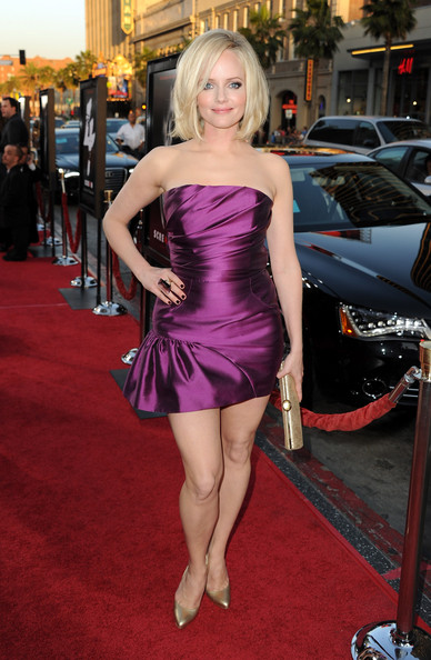 "Actress Marley Shelton arrives at the premiere of The Weinstein Company's ""Scream 4"" held at Grauman's Chinese Theatre on April 11, 2011 in Hollywood, California."