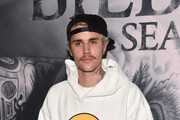 """Justin Bieber attends the premiere of YouTube Original's """"Justin Bieber: Seasons"""" at the Regency Bruin Theatre on January 27, 2020 in Los Angeles, California."""
