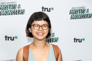 "Charlyne Yi attends the premiere of truTV's ""Bobcat Goldthwait's Misfits & Monsters"" at Hollywood Roosevelt Hotel on July 11, 2018 in Hollywood, California."