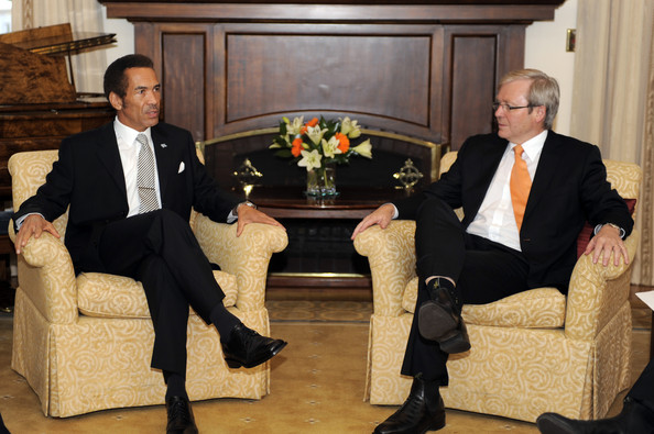 Seretse Khama Ian Khama Pictures - President Of The Republic Of ...