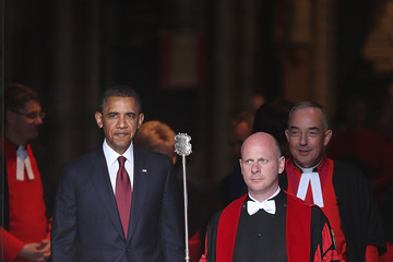Martin Castledine US President Barack Obama Visits The UK - Day One