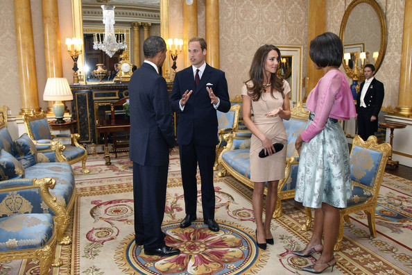 William y Catherine, Duques de Cambridge President+Barack+Obama+Visits+UK+Day+One+sjOTt45F2REl