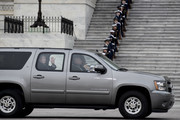 (AFP OUT) Former President George W. Bush waves to the crowd gathered to view the flag-draped casket of President George H.W. Bush be transported from the U.S. Capitol to the Washington National Cathedral for the state funeral on December 5, 2018 in Washington, DC. President Bush will be buried at his final resting place at the George H.W. Bush Presidential Library at Texas A&M University in College Station, Texas. A WWII combat veteran, Bush served as a member of Congress from Texas, ambassador to the United Nations, director of the CIA, vice president and 41st president of the United States.