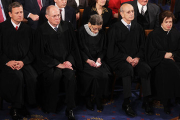 Ruth Bader Ginsburg Elena Kagan President Obama Addresses The Nation During State Of The Union Address