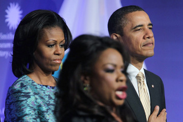 Denyce Graves President Obama Attends Nat'l Museum Of African American History And Culture Groundbreaking Ceremony