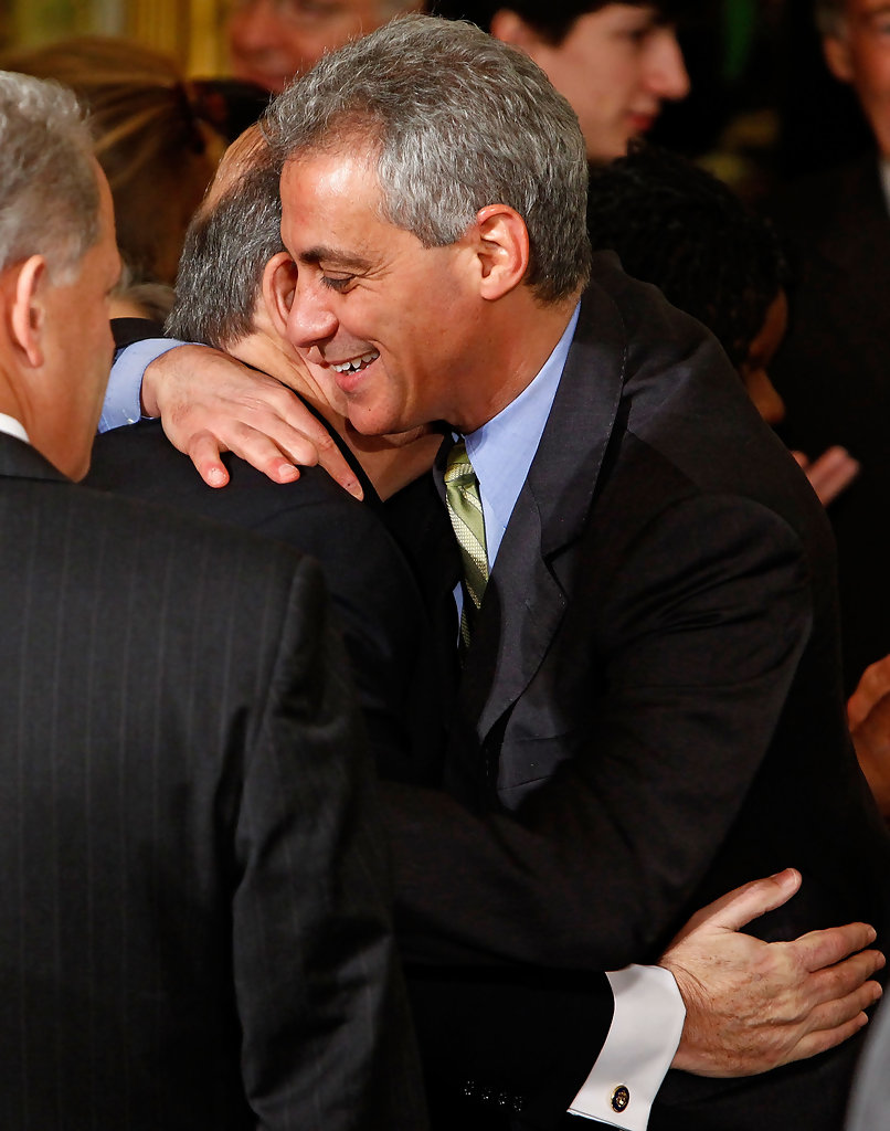 Rahm Emanuel Photos Photos - President Obama Signs Health ...