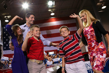 Pictures of Paul Ryan and Family