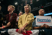 Supporters of Democratic presidential candidate Sen. Bernie Sanders (I-VT) look on at a rally at the University of Minnesotas Williams Arena on November, 3, 2019 in Minneapolis, Minnesota. Sanders was joined at the rally by Democratic Representative Ilhan Omar, who praised the Senator's policy proposals of comprehensive immigration reform and support for unions.