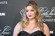 Sasha Pieterse arrives at the 'Pretty Little Liars: The Perfectionists' premiere at Hollywood Athletic Club on March 15, 2019 in Hollywood, California.