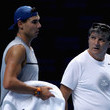 Rafael Nadal and Toni Nadal Photos