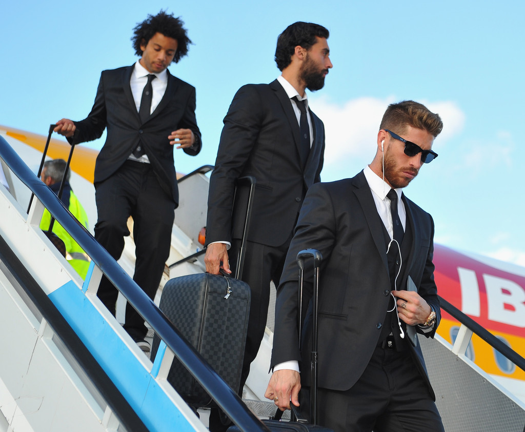 Sergio Ramos Photos Photos - UEFA Champions League Final: Previews ...