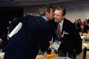 Grand Duke Henri of Luxembourg (R) greets Prince Frederik of Denmark as they attend the International Olympic Committee (IOC) meeting ahead of the Sochi 2014 Winter Olympics at the Radisson Blu hotel on February 5, 2014 in Sochi, Russia.