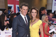 James Cracknell and Beverley Turner attend the Pride of Britain awards at The Grosvenor House Hotel on September 28, 2015 in London, England.