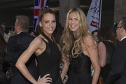 Models Jade Thompson and Elle MacPherson attend the Pride of Britain Awards at the Grosvenor House Hotel on October 3, 2011 in London, England.