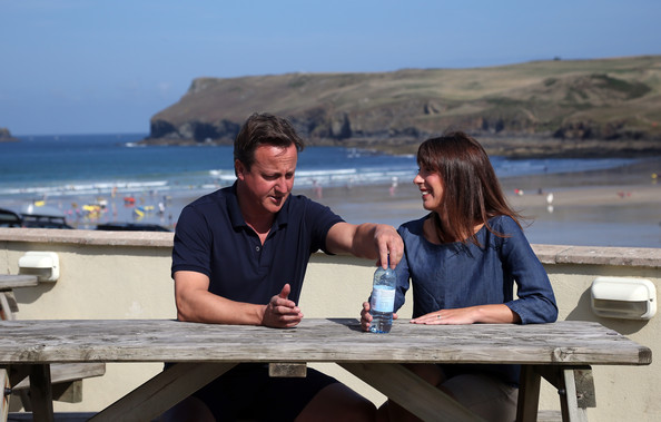 David Cameron In David Cameron And His Family Vacation In Cornwall Zimbio