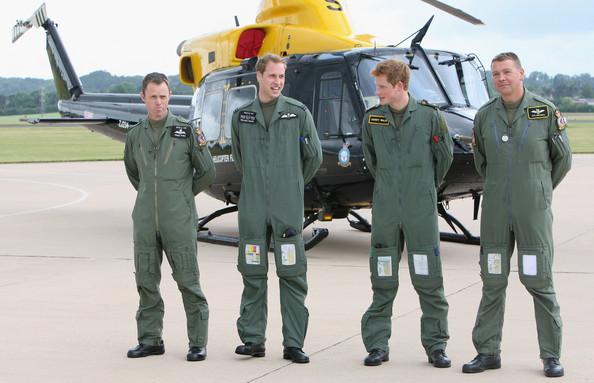 prince williams military. prince william and harry.