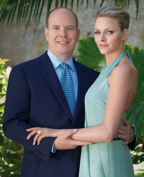 Prince Albert II of Monaco  Announce Engagment to With Charlene Wittstock