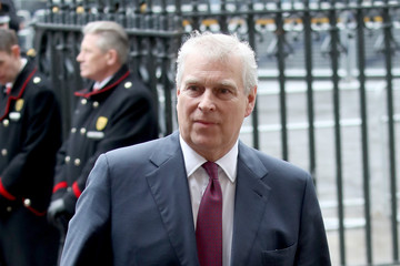 Prince Andrew Commonwealth Day Service And Reception