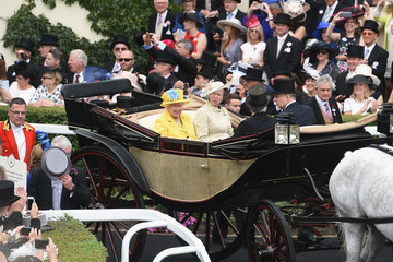Prince Andrew Royal Ascot 2018 - Lifestyle, Day 1