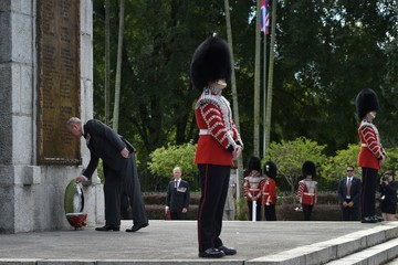 Prince Andrew Remembrance Ceremony by the Royal Commonwealth Ex-Services League