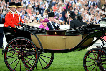 Prince Andrew Royal Ascot 2017 - Day 5