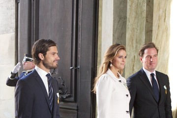 Prince Carl Philip Te Deum Thanksgiving Service To Celebrate King Carl Gustaf's 40th Jubilee