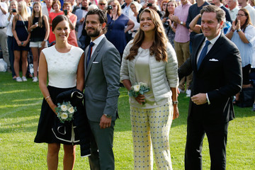 Prince Carl Philip Swedish Royals Attend Victoria's Day