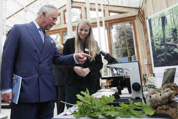 Prince Charles The Prince of Wales Visits Kew Gardens
