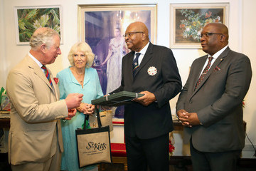 Prince Charles The Prince Of Wales And Duchess Of Cornwall Visit St. Kitts And Nevis