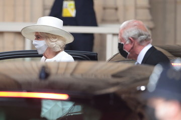 Prince Charles Camilla Parker Bowles State Opening Of Parliament 2021