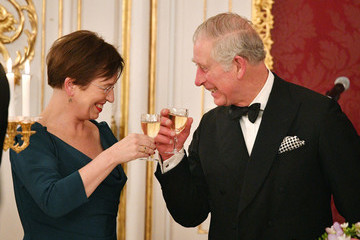 Prince Charles The Prince Of Wales And Duchess Of Cornwall Visit Austria - Day 1