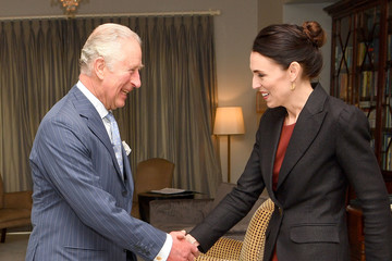 Prince Charles Jacinda Ardern The Prince of Wales And Duchess Of Cornwall Visit New Zealand - Day 3