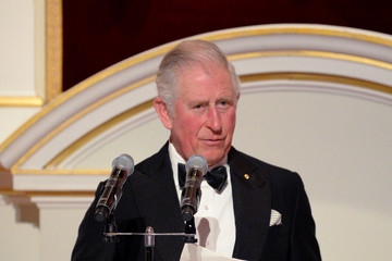 Prince Charles The Prince Of Wales Attends A Dinner In Aid Of The Australian Bushfire Relief And Recovery Effort