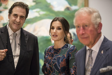 """Prince Charles Royals Attend The Opening Of """"Sorolla: Spanish Master of Light"""" At The National Gallery"""
