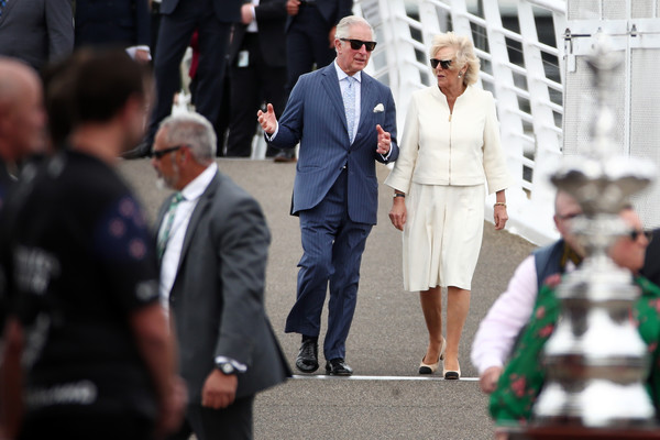 The Prince of Wales And Duchess Of Cornwall Visit New Zealand - Day 2