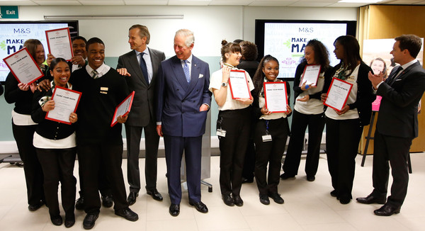 The Prince of Wales Undertakes a Prince's Trust Away Day []