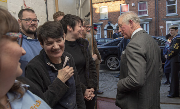 Prince Charles, Prince Of Wales Visits Shoemakers Tricker's - 22 of 22