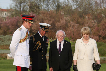 Prince Charles Gallipoli Campaign Centenary: The Commemorations, April 24