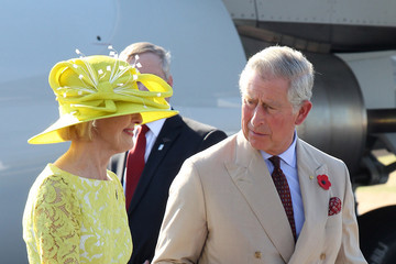 Prince Charles Quentin Bryce The Prince Of Wales And Duchess Of Cornwall Visit Australia - Day 1