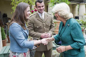 Katie Brown Prince Charles Reception For Wounded Servicemen And Women