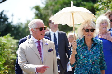 Prince Charles The Prince Of Wales And The Duchess Of Cornwall Visit Devon And Cornwall - Day Two