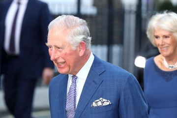 Prince Charles The Prince Of Wales And Duchess Of Cornwall Attend Age UK Tea At Spencer House