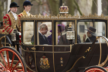 Prince Charles State Visit of the President of United Mexican States: Day 1